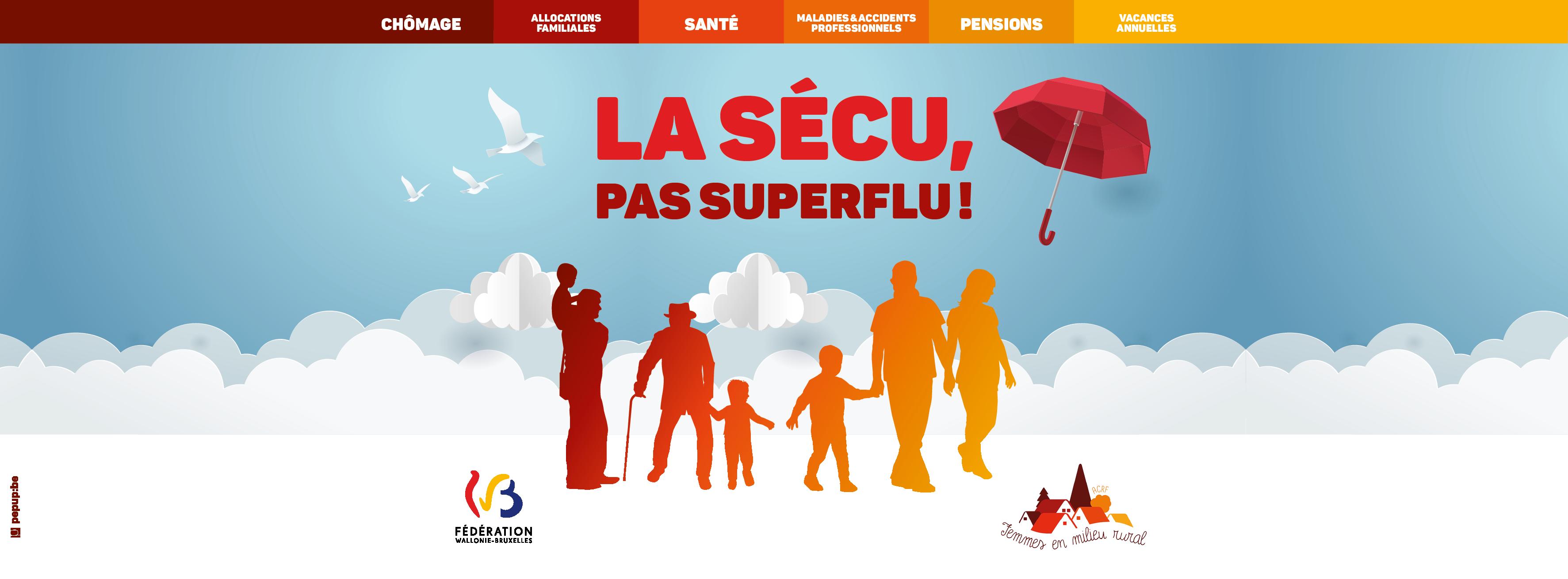 Campagne 2020 : La sécu, pas superflu !