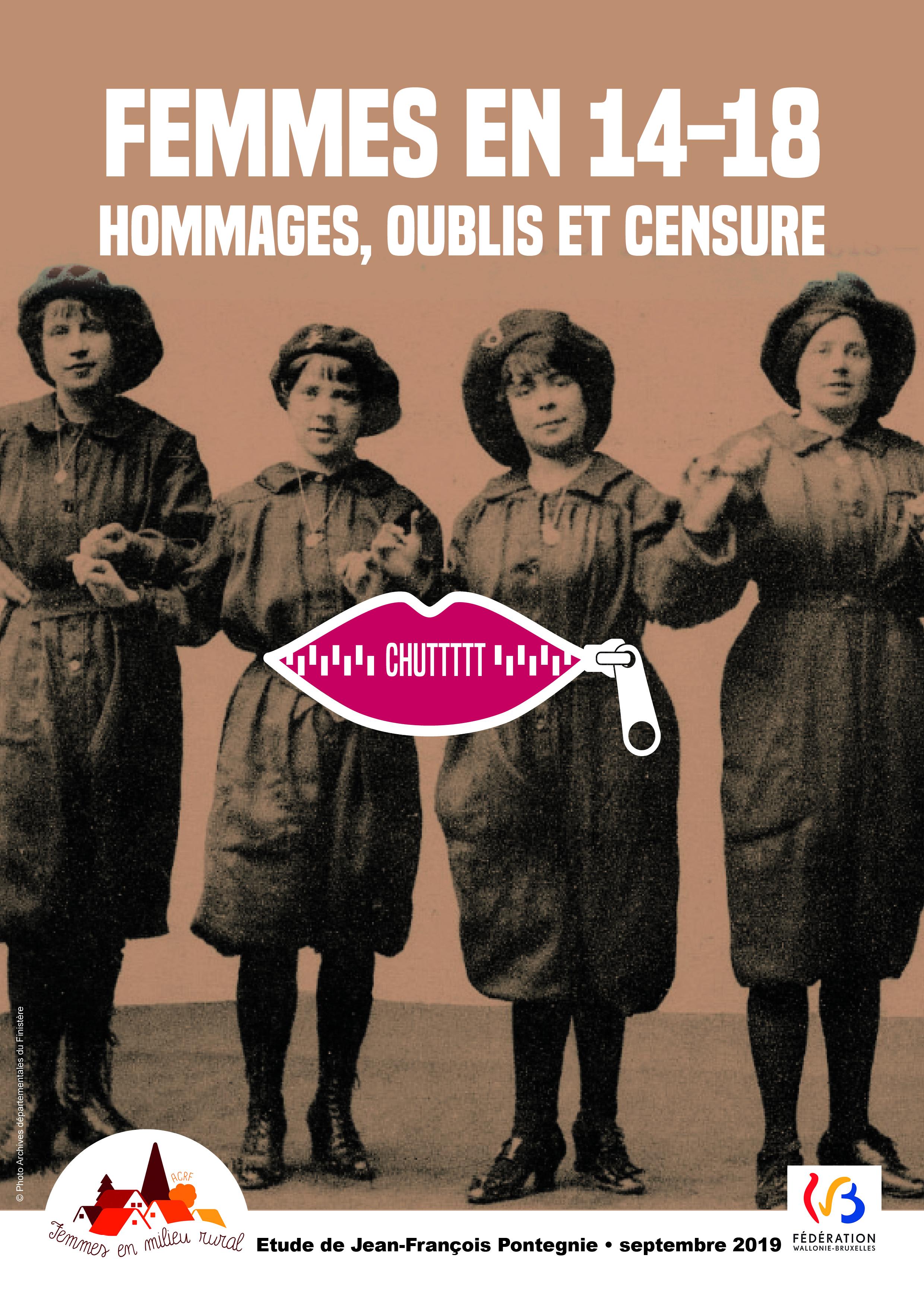 Femmes en 14/18 – Hommages, oublis et censure